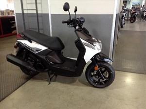 Yamaha BWs 125 Radical White 2016