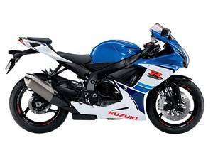 Suzuki GSX-R600 - Blue 2016