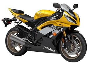 Yamaha YZF-R6 60th Anniversary Yellow / Black 2016