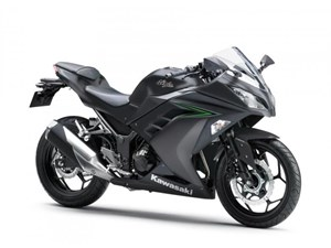 Kawasaki Ninja 300 ABS Metallic Matte Carbon Gray 2016