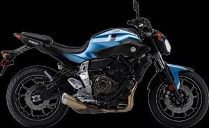 Yamaha FZ-07 Pale Metallic Blue 2017