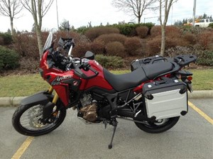 Honda CRF1000L DCT with bags 2017