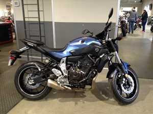 Yamaha FZ-07 ABS Pale Metallic Blue 2017