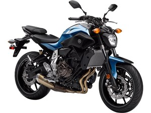 Yamaha FZ-07 Pale Metallic Blue 2017