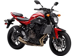 Yamaha FZ-07 ABS Vivid Cocktail Red 2017