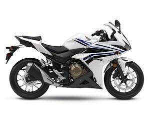 Honda CBR500R White 2017