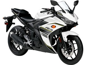 Yamaha YZF-R3 ABS Metallic White 2017