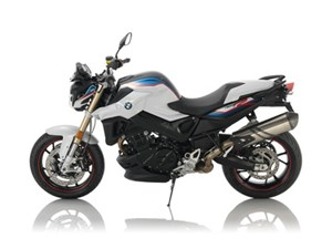 BMW F800R Light White/Lupin Blue/Racing Red 2017