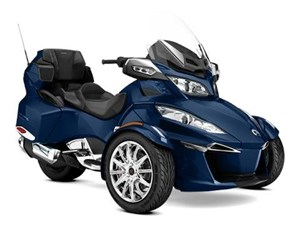 Can-Am Spyder RT Limited Orbital Blue Metallic 2017