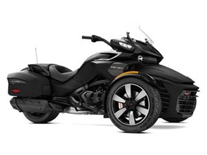 Can-Am Spyder F3-T SE6 Monolith Black Satin 2017