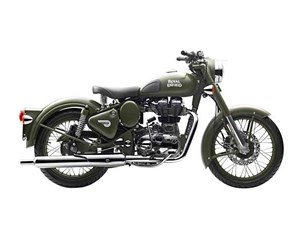Royal Enfield Classic Battle Green 2017