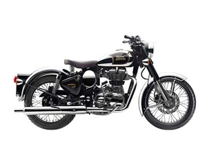 Royal Enfield Chrome - Classic Black 2017