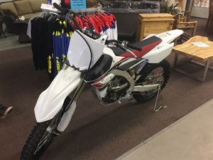 Yamaha YZ250F Purplish White 2017