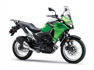 Kawasaki Versys-X 300 ABS Candy Lime Green / Metallic Carbo 2017