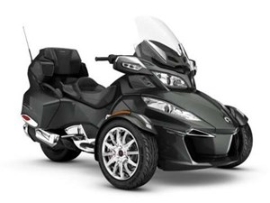 Can-Am Spyder RT Limited Asphalt Grey Metallic 2017
