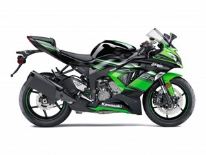 Kawasaki Ninja ZX-6R Kawasaki Racing Team Edition 2017