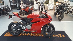 Ducati 959 Panigale Red 2017