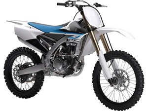 Yamaha YZ250F Purplish White 2018