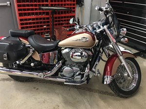 Honda Shadow Ace 750 Deluxe 2000