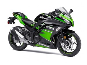Kawasaki Ninja 300 ABS Kawasaki Racing Team Editi 2017