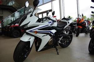 Honda CBR500R ABS White 2017