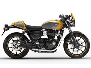 Triumph Street Cup Racing Yellow/Silver Ice 2017