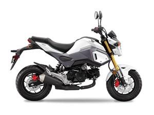Honda Grom Pearl Himalayas White 2017