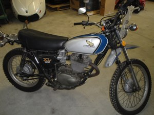 Honda XL-350 Enduro 1974
