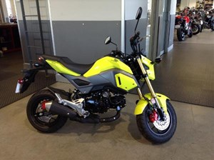 Honda Grom Lemon Ice Yellow 2018