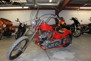 Custom home build chopper 2007