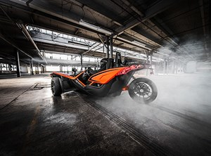 Polaris SLINGSHOT SLR ORANGE EN FOLIE / 82$/sem garantie 4 2017