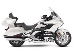 Honda Gold Wing Tour Pearl Glare White 2018