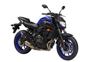 Yamaha MT-07 (FZ07) 2018