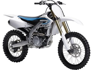 Yamaha YZ450F Purplish White 2018