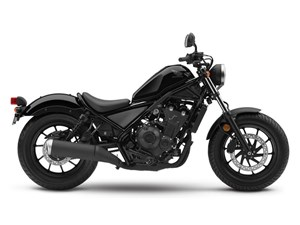 Honda Rebel 500 Graphite Black 2018