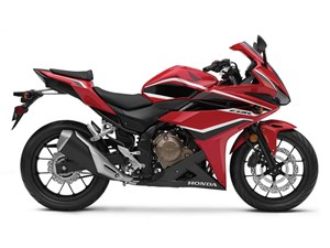 Honda CBR500R Grand Prix Red 2018
