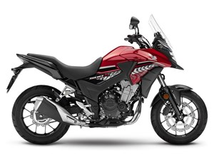 Honda CB500X Chromosphere Red 2018