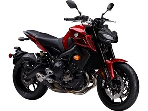 Yamaha FZ-09 ABS Deep Metallic Red 2017
