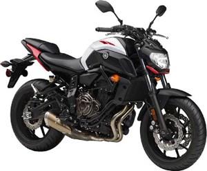 Yamaha MT07 2018