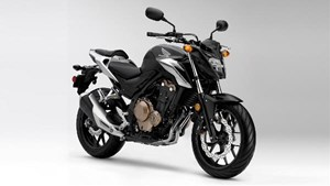 Honda CB500F Matte Gunpowder Black 2018