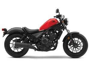 Honda Rebel 500 Millennium Red 2018