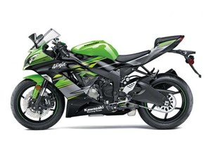 Kawasaki NINJA ZX-6R ABS KAWASAKI RACING TEAM EDITION / 35$ 2018