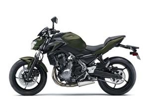 Kawasaki Z650 ABS DARKGREEN / 26$/sem 2018