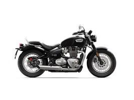 Triumph Bonneville Speedmaster Jet Black 2018