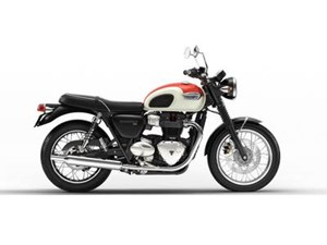 Triumph Bonneville T100 New England White/ Inten 2018