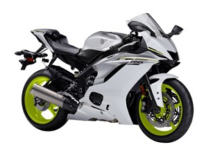 Yamaha YZF-R6 ABS Bluish Pearl White 2017