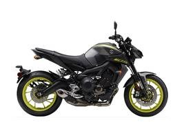 Yamaha MT-09 Matte Metallic Gray 2018