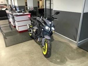 Yamaha FZ-10 Dark Metallic Grey ABS 2017