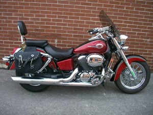 Honda Shadow Ace 750 Deluxe 2002