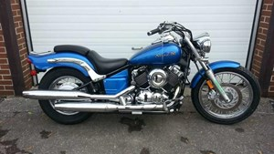 Yamaha V Star Custom 2009